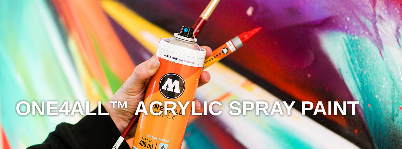 ONE4ALL™ spray paint