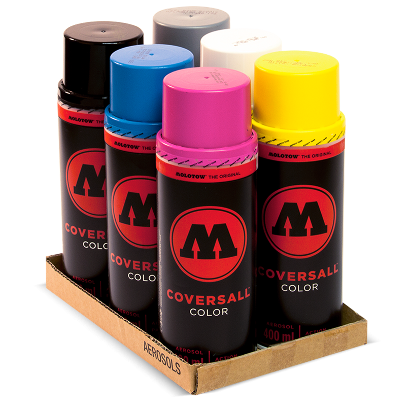 """COVERSALL™ Color FORK """"CMYK Pack"""""""