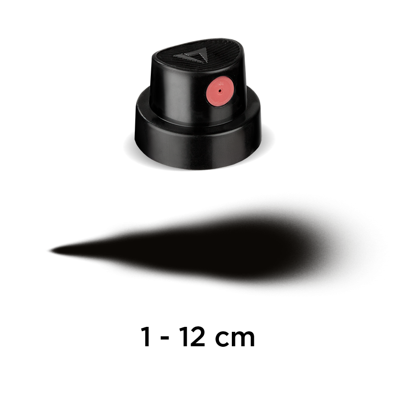 MOLOTOW™ Fat Cap black/pink (9021)