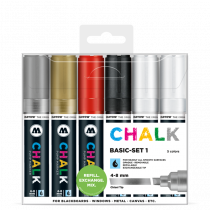 Sada fixiek Chalk  Basic Set 1 (4-8 mm)