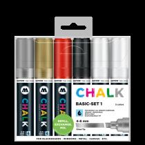 Sada fixiek Chalk  Basic Set 1 (4-8 mm)