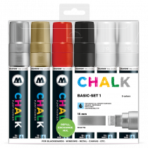 Sada fixiek Chalk  Basic-Set 1 (15 mm)