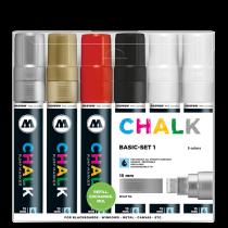 Sada fixiek Chalk  Basic-Set 1 (15 mm)
