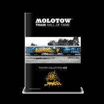 "MOLOTOW™ Train Poster #05 ""SLIDER & CAPARSO"""