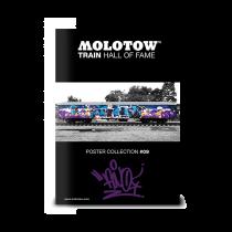 """MOLOTOW™ Train Poster #09 """"FINO"""""""